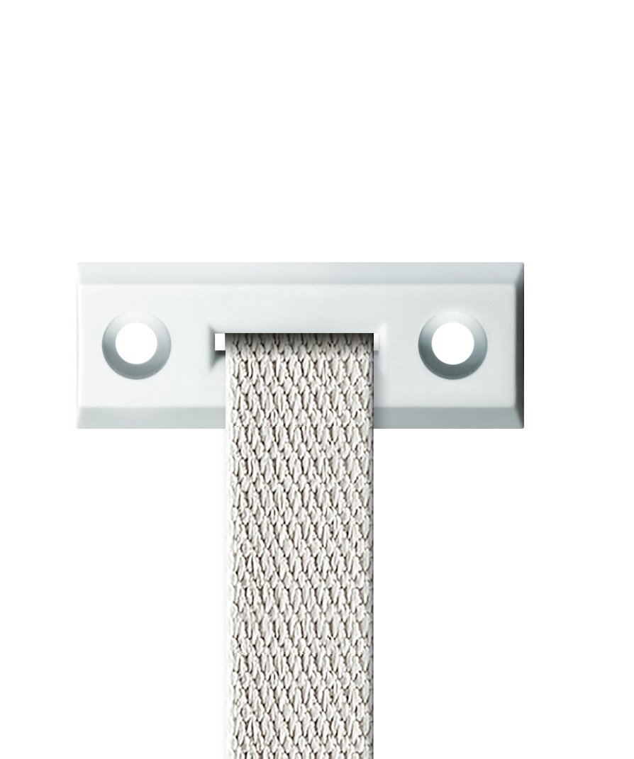 Schellenberg-Guida cinghia 51202 Standard angolare per cinghie per tapparelle, sistema Mini/Maxi