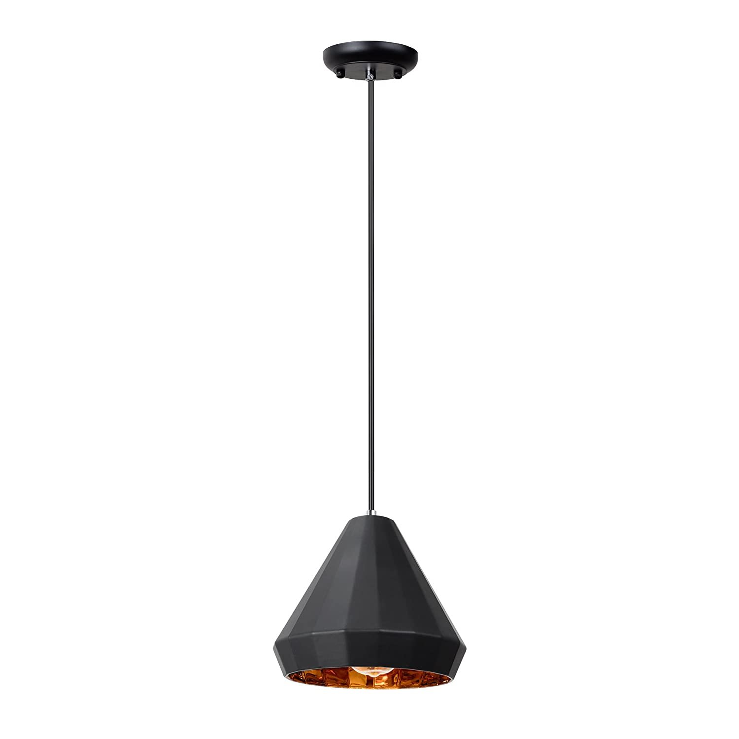 Maykke alta mesa pendant light modern geometric diamond painted