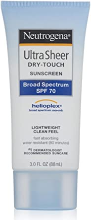 Neutrogena Ultra Sheer Bloqueador FPS 70, 88 ml