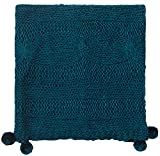 Company C Felicity Throw Blanket, 0, Teal