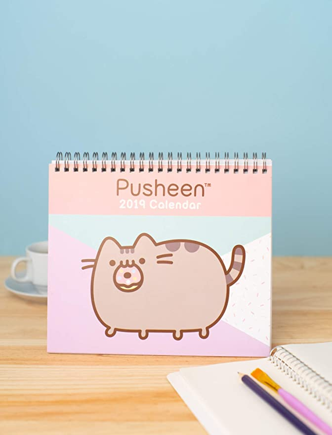 Amazon.com : Grupo Erik editores Pusheen The Cat - 2019 ...