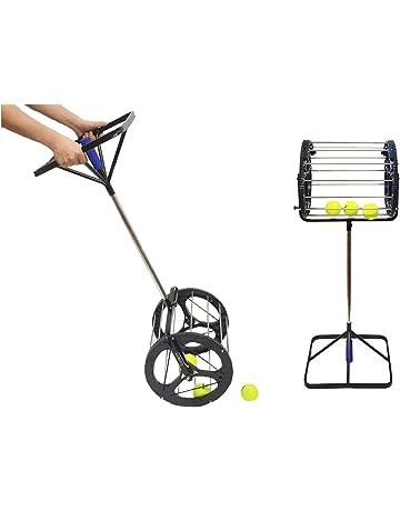 Lesmin Table Tennis Balls Pickup Automatic Balls Receiver Can Hold Up 125 Pingpong Balls