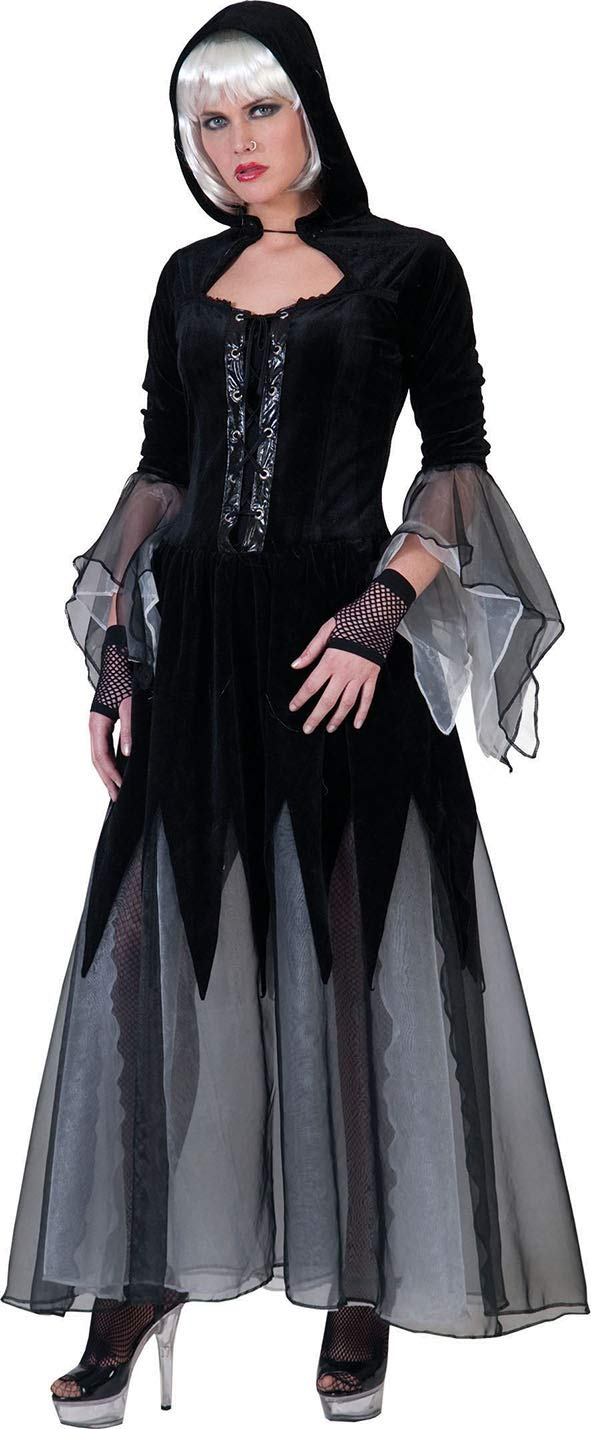 Gothic red riding hood costume for women L
