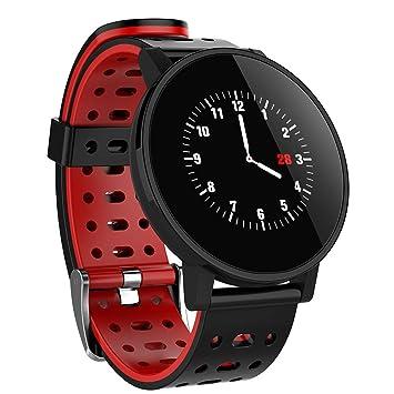 9FMZZzi81E Reloj Inteligente, Hombre Mujer T3 Pulsera Actividad Inteligente Impermeable 1.3 Pulgadas Pantalla Color Pulsera Podómetro con Pulsómetro, ...