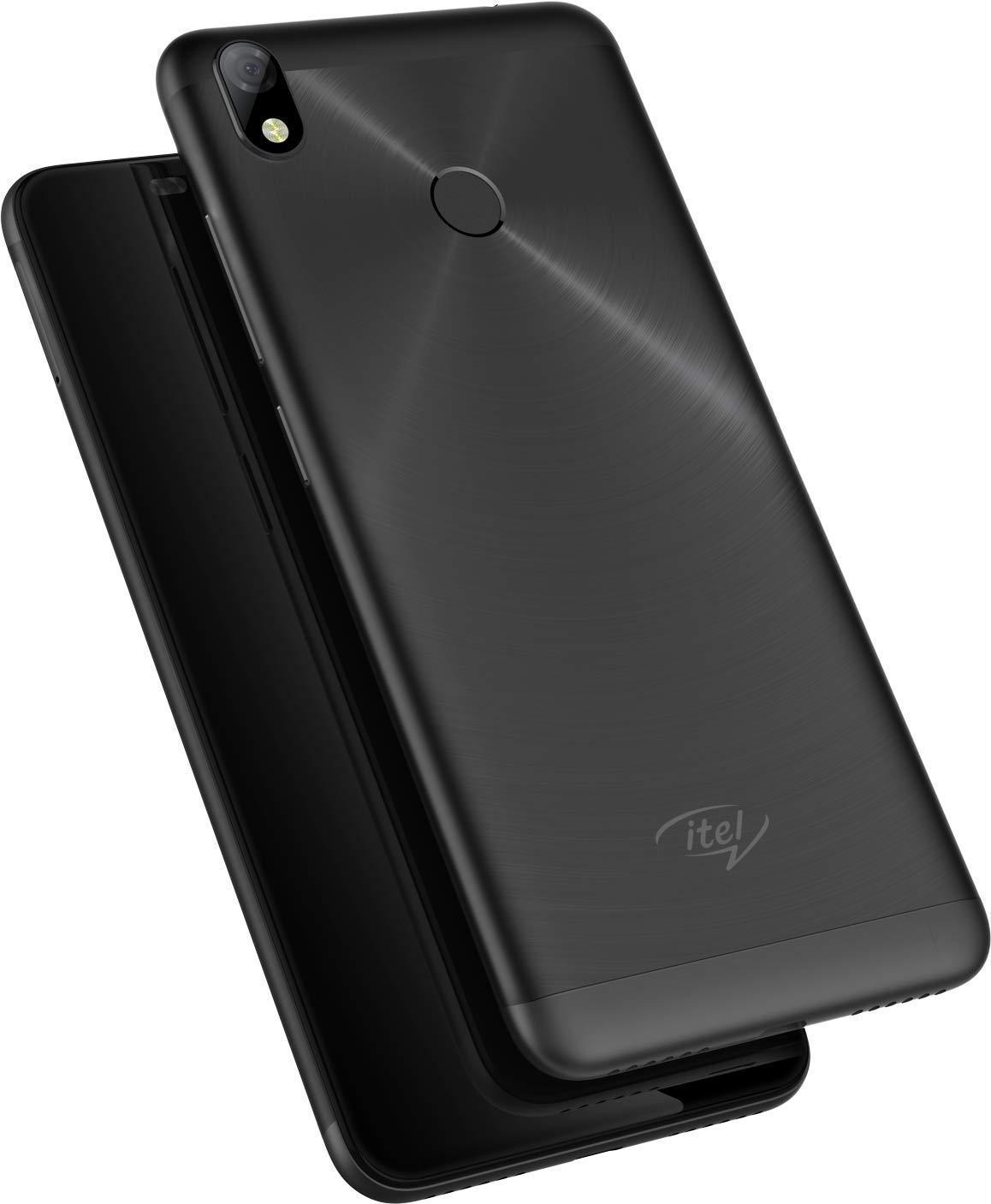 Itel S42 Smartphone 16GB ROM, 3GB RAM (Black)