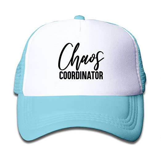 f97be41ac34 Amazon.com: Chaos Coordinator Mesh Baseball Cap Girl's Adjustable ...