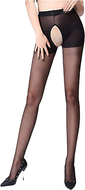 ladies womens stockings pantyhose black