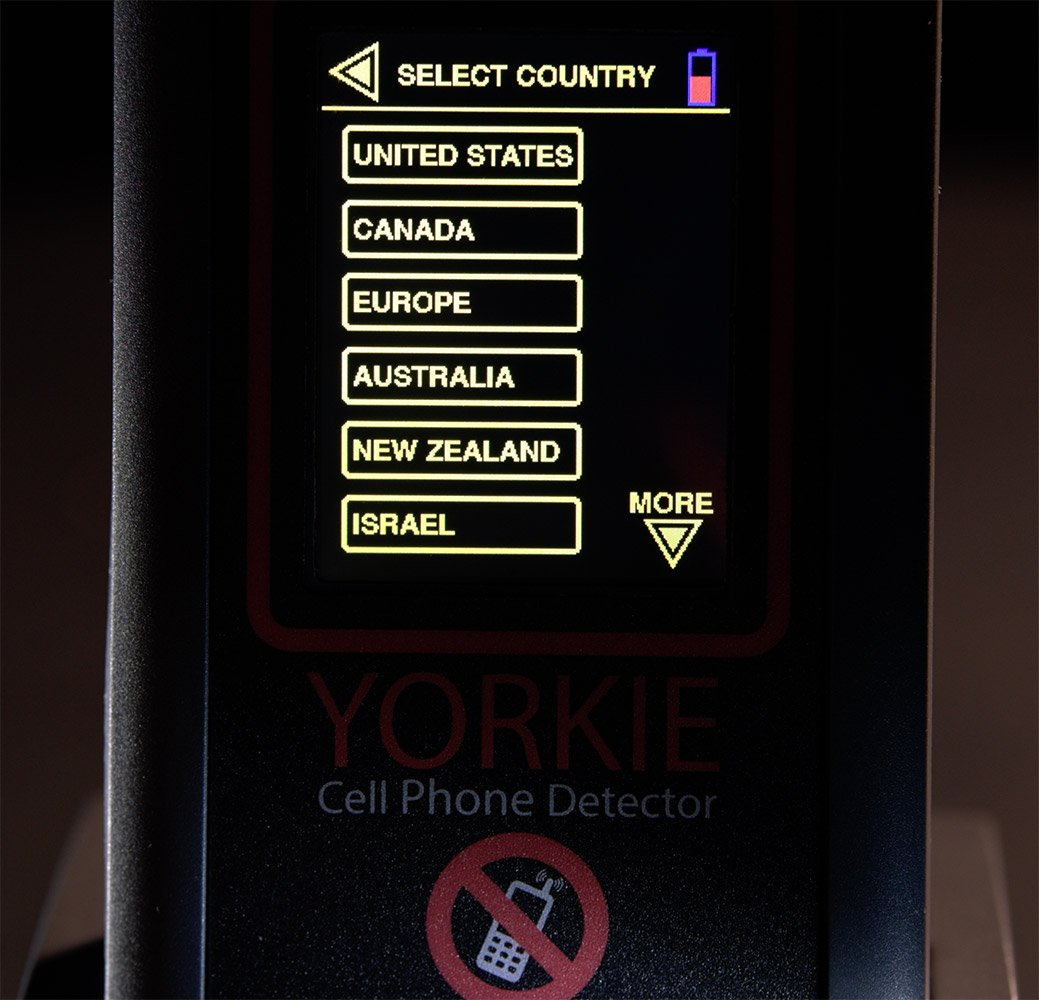 Amazon.com : Yorkie Contraband Cell Phone & GPS Tracker Detector : Camera & Photo