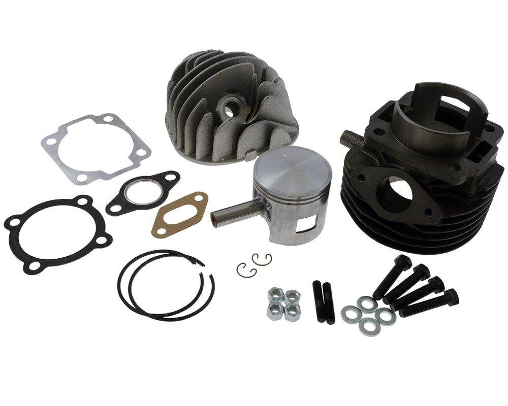 zylinderkit POLINI Grigio Ghisa Sport 102 CCM 55 mm per APE 50, Vespa PK 50, Special 50, XL 50
