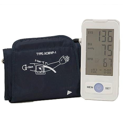 grafner® Brazo Tensiómetro Tensiómetro Pulso – Tensiómetro digital eléctrica 99 puestos de memoria