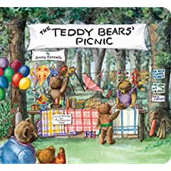 Image: The Teddy Bears' Picnic (Classic Board Books), by Jimmy Kennedy (Author), Alexandra Day (Illustrator). Publisher: Little Simon; Brdbk edition (April 7, 2015)