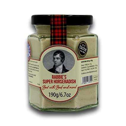 Amazon.com : Rabbie's Super Horseradish Sauce : Grocery & Gourmet Food