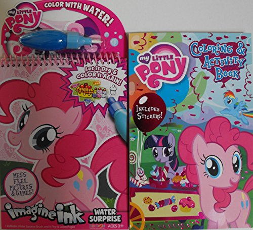 my little pony 2 piece bundle one imagine ink water surprise one 160 - Imagine Ink Coloring Book