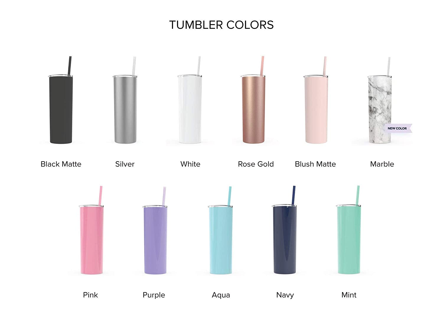 Personalized Bridesmaid tumbler custom cups with straws insulated blush pink rose gold wedding tumblers