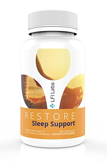 Natural Melatonin Sleep Aid Supplement – with L-Theanine, 5 HTP & Antioxidants – Sleeplessness Support...