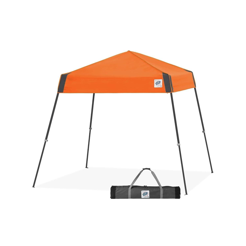 amazoncom ez up vista sport instant shelter canopy 8 by 8u0027 steel grey garden u0026 outdoor