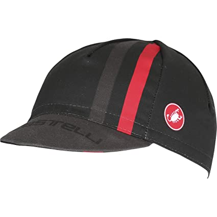 f2aa0a7ae5a7b3 Amazon.com : Castelli Podio Doppio Cap : Clothing