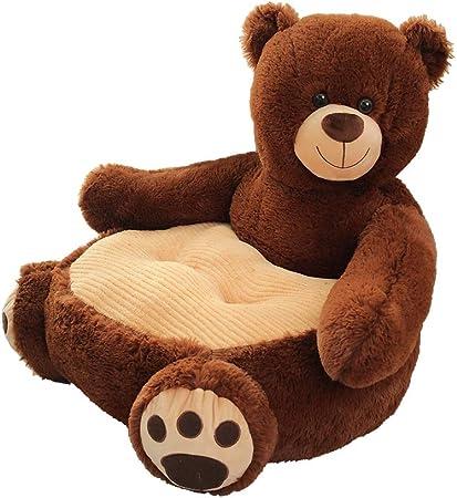 Bear Kaliya Plush Kids Elephant Canap/é Si/ège Chaise Enfant Fauteuil Animal Confortable Canap/é