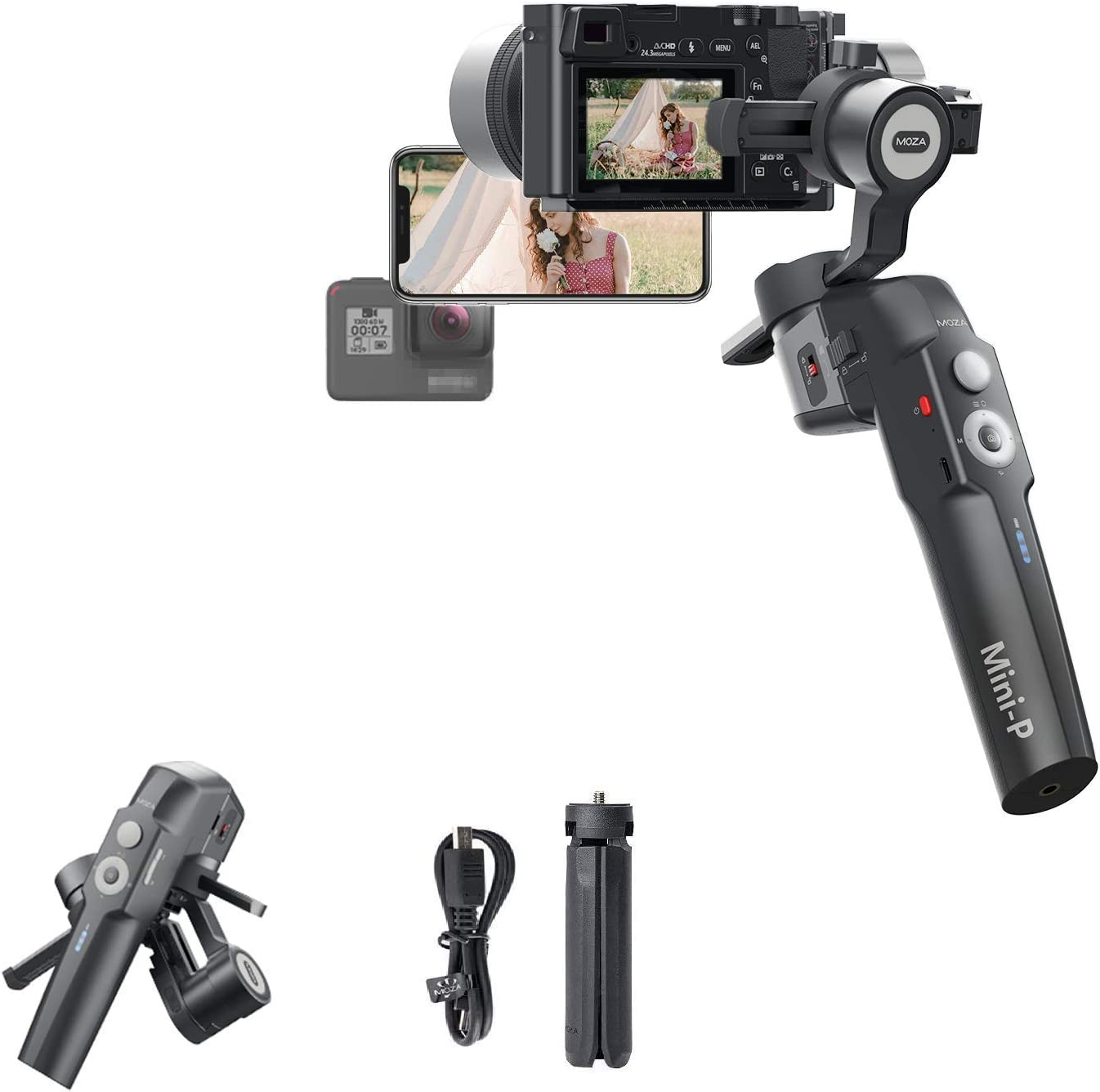 Amazon Promo Code for 3-Axis Gimbal Foldable Stabilizer