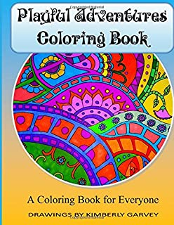 Playful Adventures Coloring Book A For Everyone