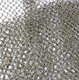 Nautical Decorative Fish Net, 5 Foot X 10 Foot Rustic Beach Decor by Stetson