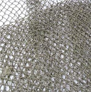 Nautical decorative fish net 5 39 x 10 39 fish for Decorative fishing net