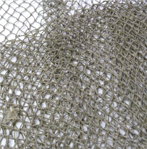 9GreenBox Nautical Decorative Fish Net 5' X 10' - Fish Netting - Rustic Beach Decor]()