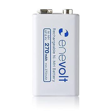 amazon エネボルト enevolt 6p形 充電池 270mah 8 4v 充電 ニッケル
