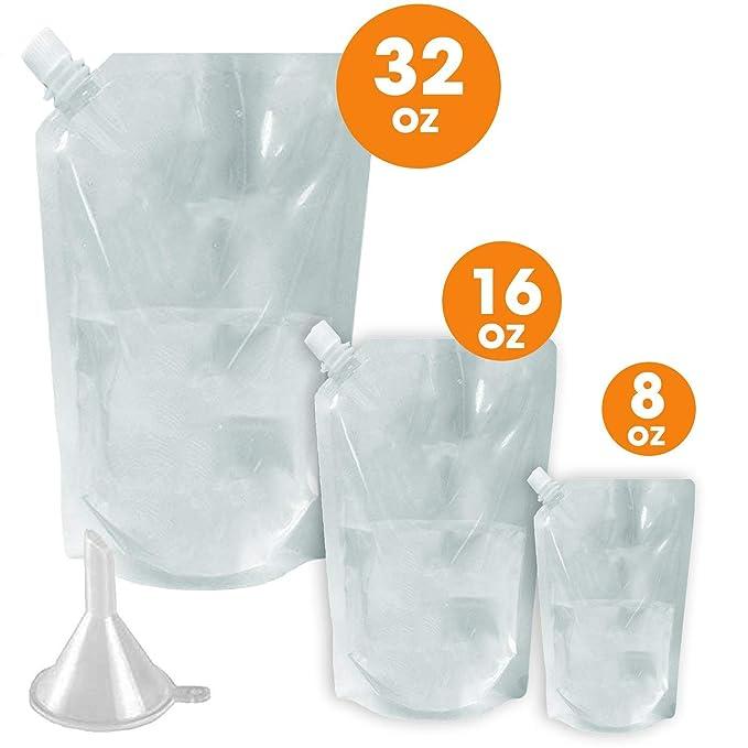 Amazon.com: Botellas reutilizables de crucero, 3 unidades de ...