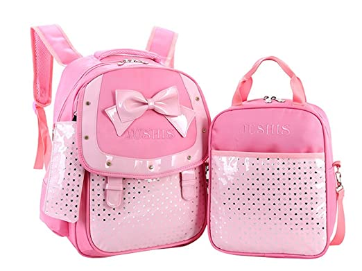 Amazon.com | Scheppend School Girls Backpack with Lunch Box Pencil ...