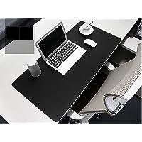 BUBM PU lederen muismat mat waterdicht, perfecte bureau schrijfmat voor kantoor en thuis, ultra dun 2 mm - 80,3 x 40,1…