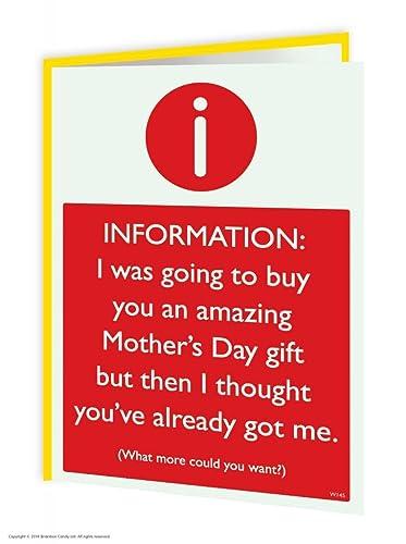 tesco value mothers day card joke card. Black Bedroom Furniture Sets. Home Design Ideas