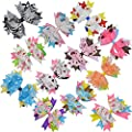 "Lclhb 4-5"" Baby Children Girl Hair Bows Alligator Clip Accessories Hw06"