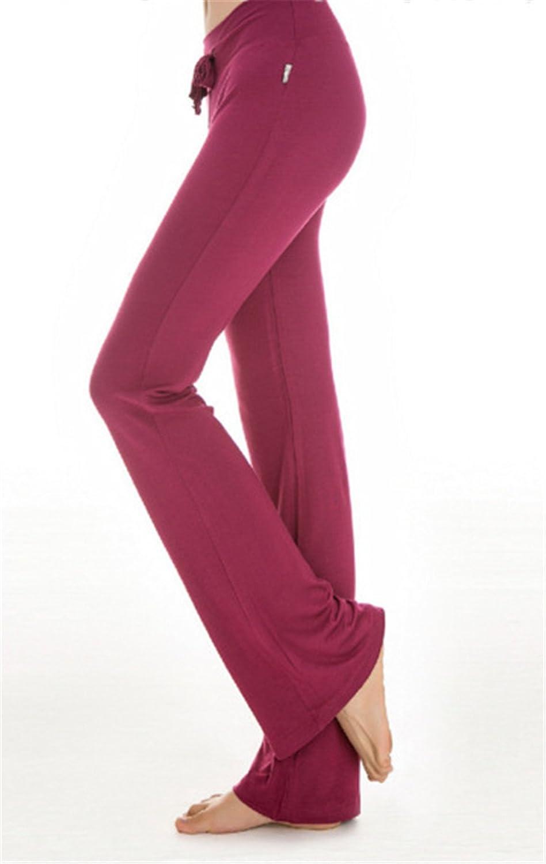 Hippolo a gamba dritta pantaloni della tuta da donna con coulisse corsa per yoga jogging Royal blue XL