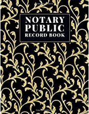 Notary Public Record Book: Notary Logbook For Record Notarial Entries. Office Notary Journal, Notary Public Records Book and Notary Receipt Log Book.