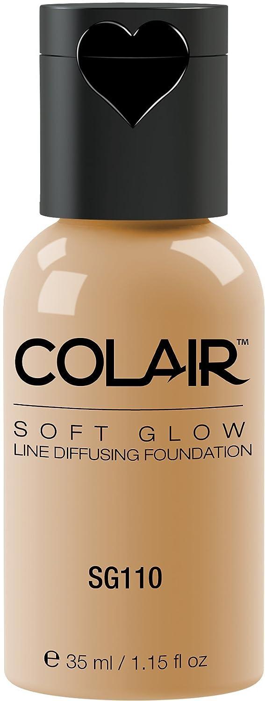 Dinair Airbrush Makeup Foundation | Olive Beige Sg110 | Soft Glow: Matte Finish | Size 1.15 oz.