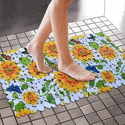 Non Slip Pvc Foam Bath Tub Floor Mat