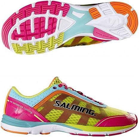 Salming Distance 3 - Zapatillas de Running para Mujer, Color Rosa ...