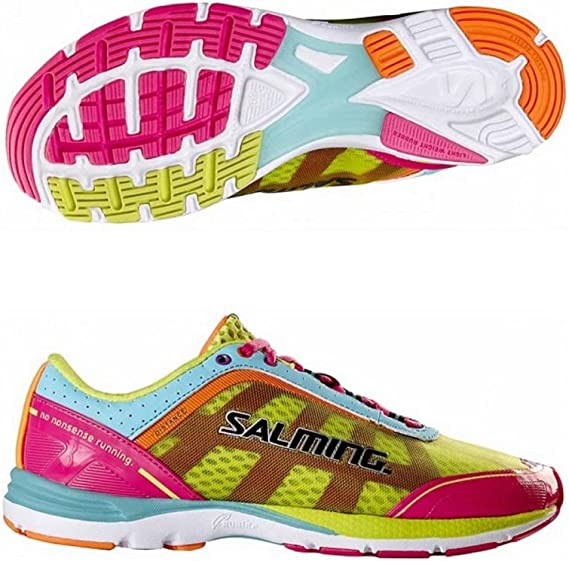 Salming Distance 3 - Zapatillas de Running para Mujer, Color Rosa, Pink Yellow, UK 6.5 - EUR 40: Amazon.es: Deportes y aire libre