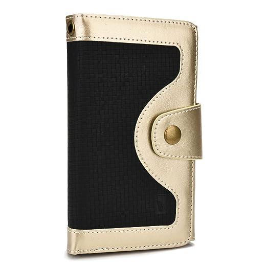 8 opinioni per Cooper Cases(TM) Tatami Custodia a Portafoglio Universale per Smartphone in Oro