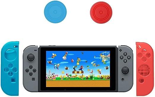 iVoler Nintendo Switch Silicona Funda, 2 Funda estuche + 2 Thumb ...