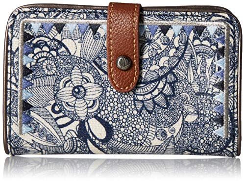 Sakroots Unisex-adults City Medium Wallet, Navy Spirit for sale  Delivered anywhere in USA