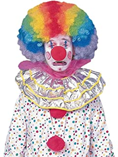 Forum Novelties Mens Jumbo Rainbow Clown Costume Wig