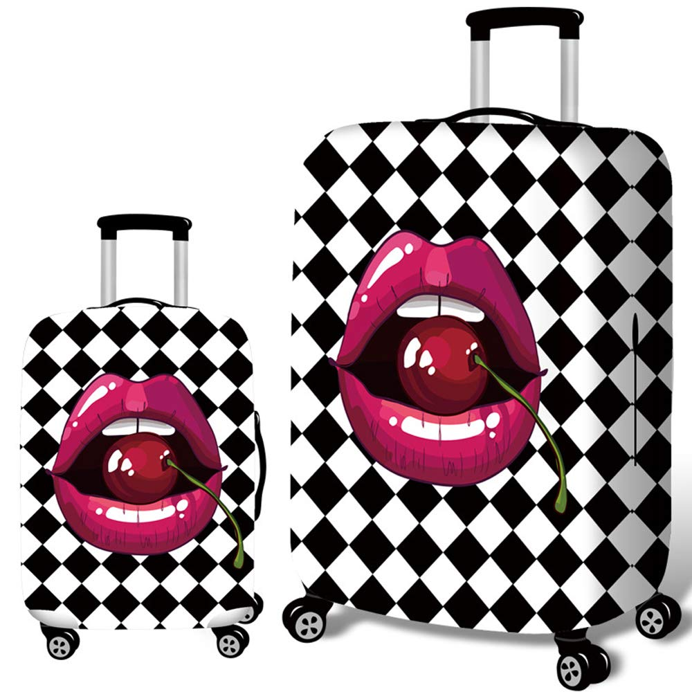 Funny Mini Big Penguin Travel Luggage Protector Case Suitcase Protector For Man/&Woman Fits 18-32 Inch Luggage