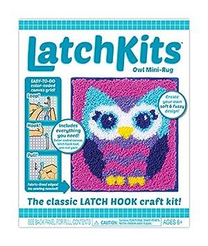Kahootz Latch Hook Kit - Owl 1602