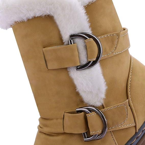 Boots MOIKA Hiver Femme Bottes Homme Chaussures Neige De EWD29YHI