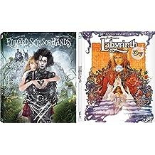 Cult Fantasy Collection - Edward Scissorhands (Blu-ray/Digital HD) & Jim Henson's Labyrinth (30th Anniversary Edition) 2-Blu-ray Bundle