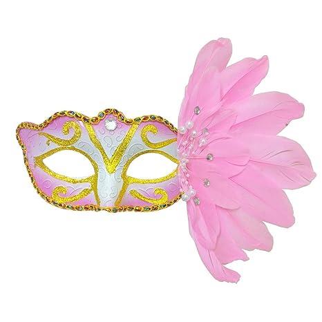 Amazon.com: Disfraz de Halloween para mujer, máscara de ...