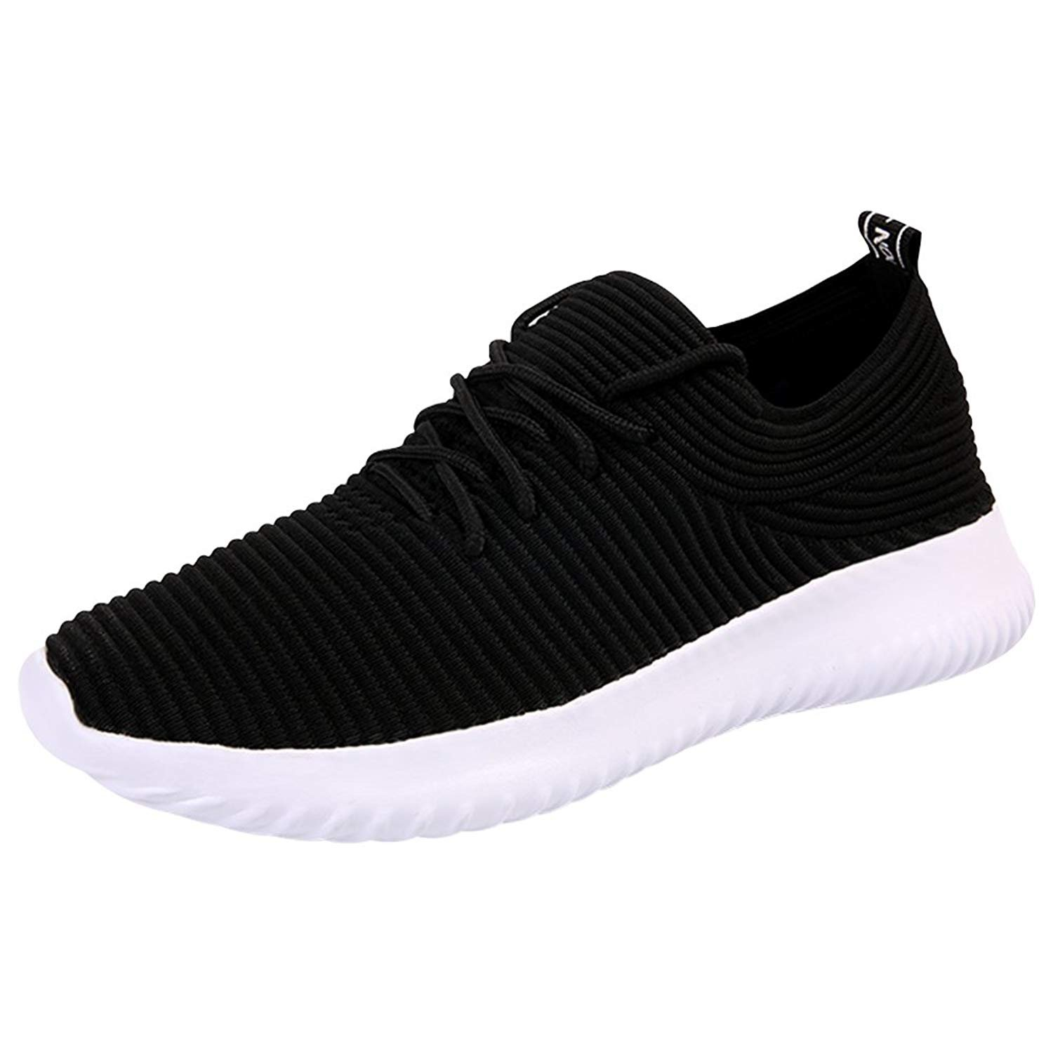 Padcod Running Shoes Flyknit Lightweight Athletic Casual Sneakers Sports Gym Tennis Shoes for Men and Women