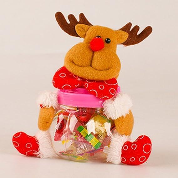 Vollter Navidad Tarro del caramelo del favor del regalo del polo ...